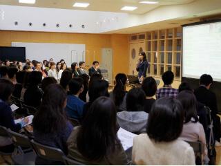 茨城県石岡市立小学校にて「どう始める?家庭でのおこづかい教育」