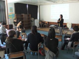 千葉県公民館にて 保護者向け講座「お金を大切にする子に・・・」